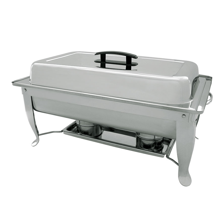 Update International FCC-11P Economy Chafer with Folding Stand