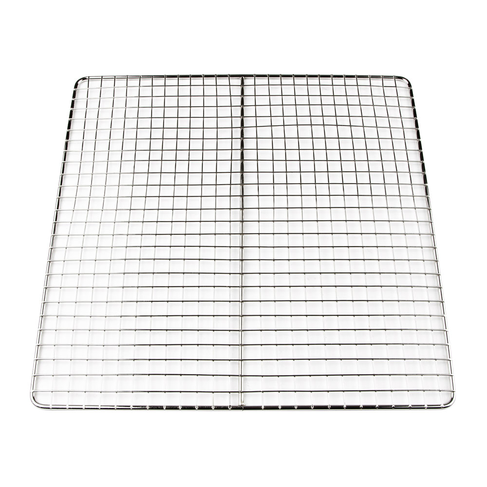 "Update International FS1313 13"" Square Fryer Screen - Chrome Plated Stainless"