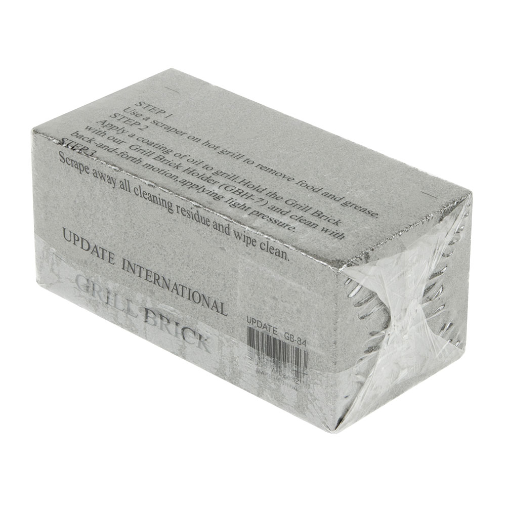 Update International GB-84 Grill Brick - 7-7/8x3-15/16x3-1/2