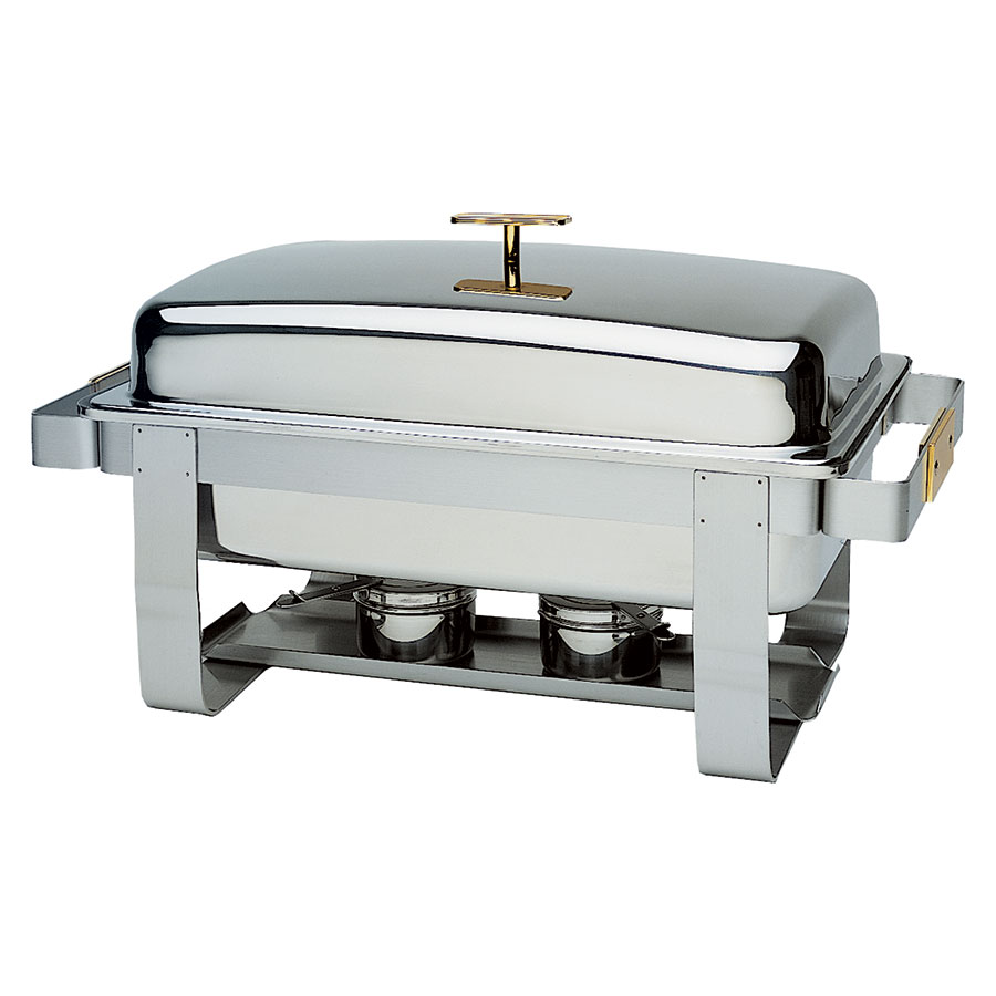 Update International GC-7 8-qt Grandeur Full-Size Chafer - Stainle