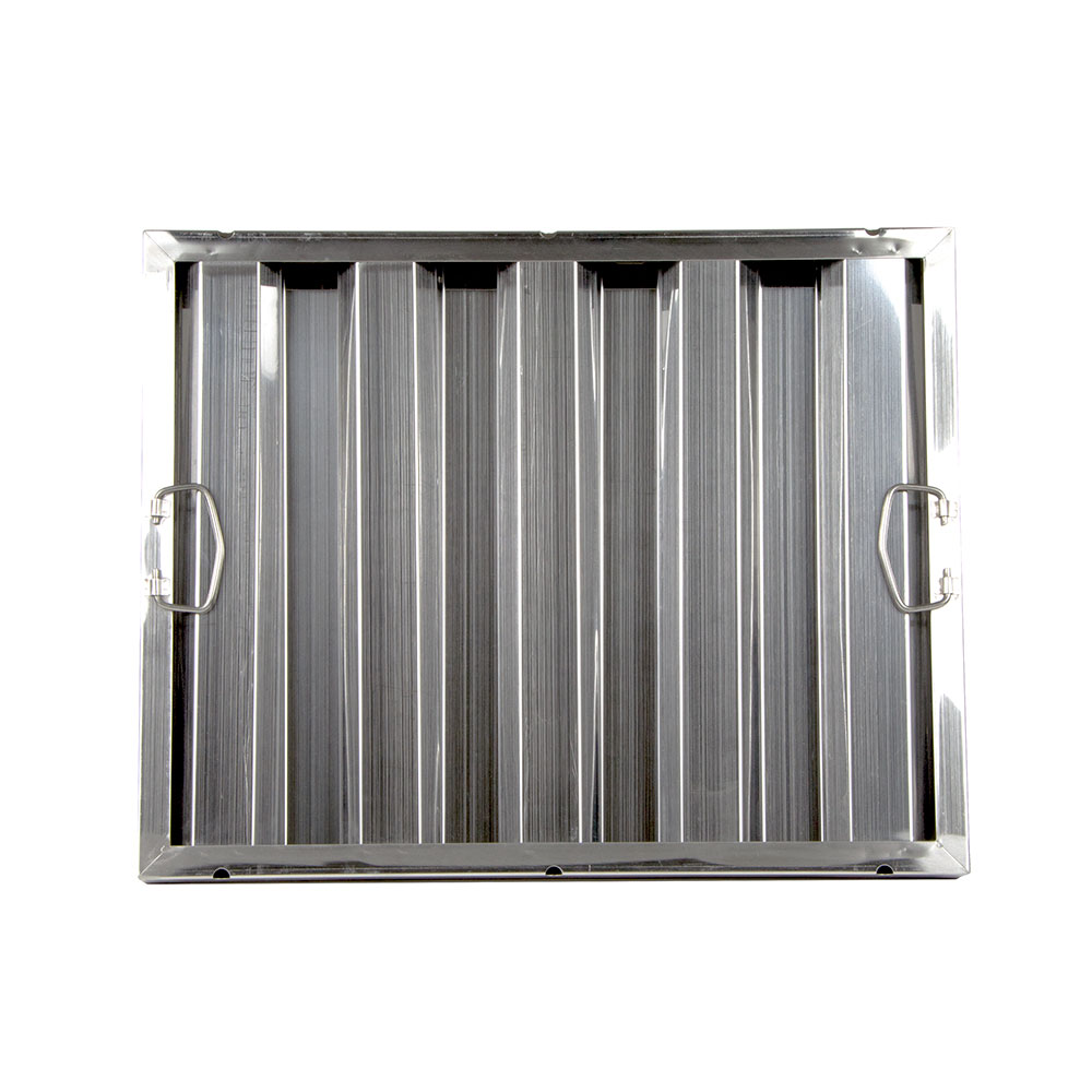 "Update International HF-2016 Hood Filter - 20x16"" Stainless"