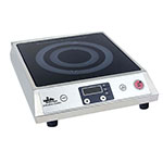 Update International IC-1800W Induction Cooker - Ceramic Top, Stainless 120v