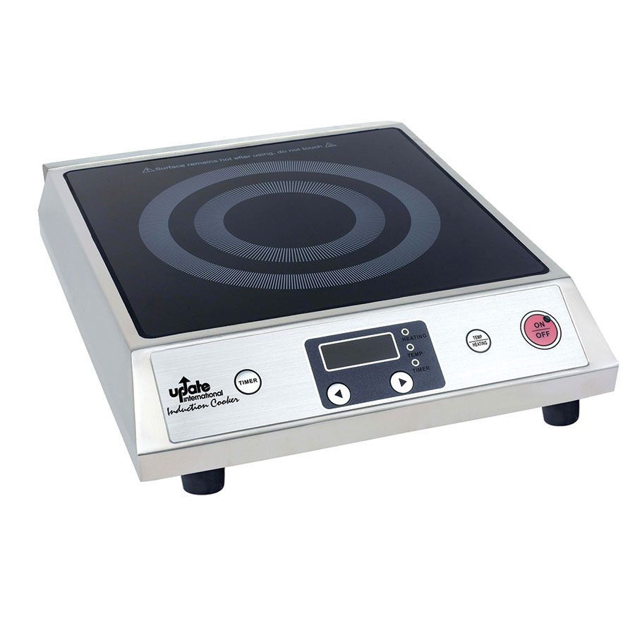 Update International IC-1800W Countertop Commercial Induction Cooktop, 120v