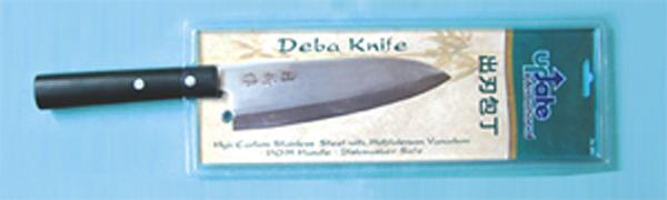 "Update International JK-04 6-1/2"" Deba Knife - 3.0mm Carbon Stainless Steel"