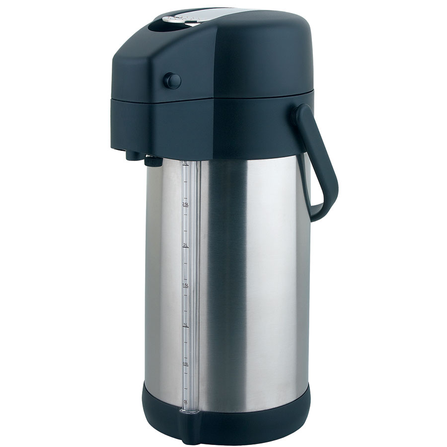 Update International LSG-30/BK 3-liter Prem-Air Airpot - Stainless