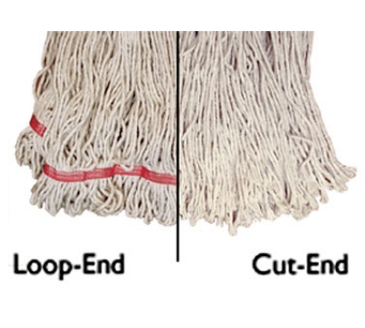 "Update International MOP#24LE Loop-End Mop Head - 16x6"" Po"