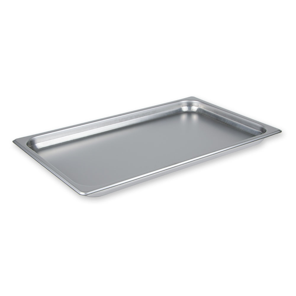 "Update International NJP-1002 Full-Size Steam Table Pan - Anti-Jam, 2-1/2"" D, 25-ga Stainless"