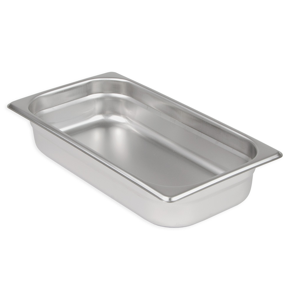 Update International NJP-332 1/3 Size Steam Table Pan - 2-1/