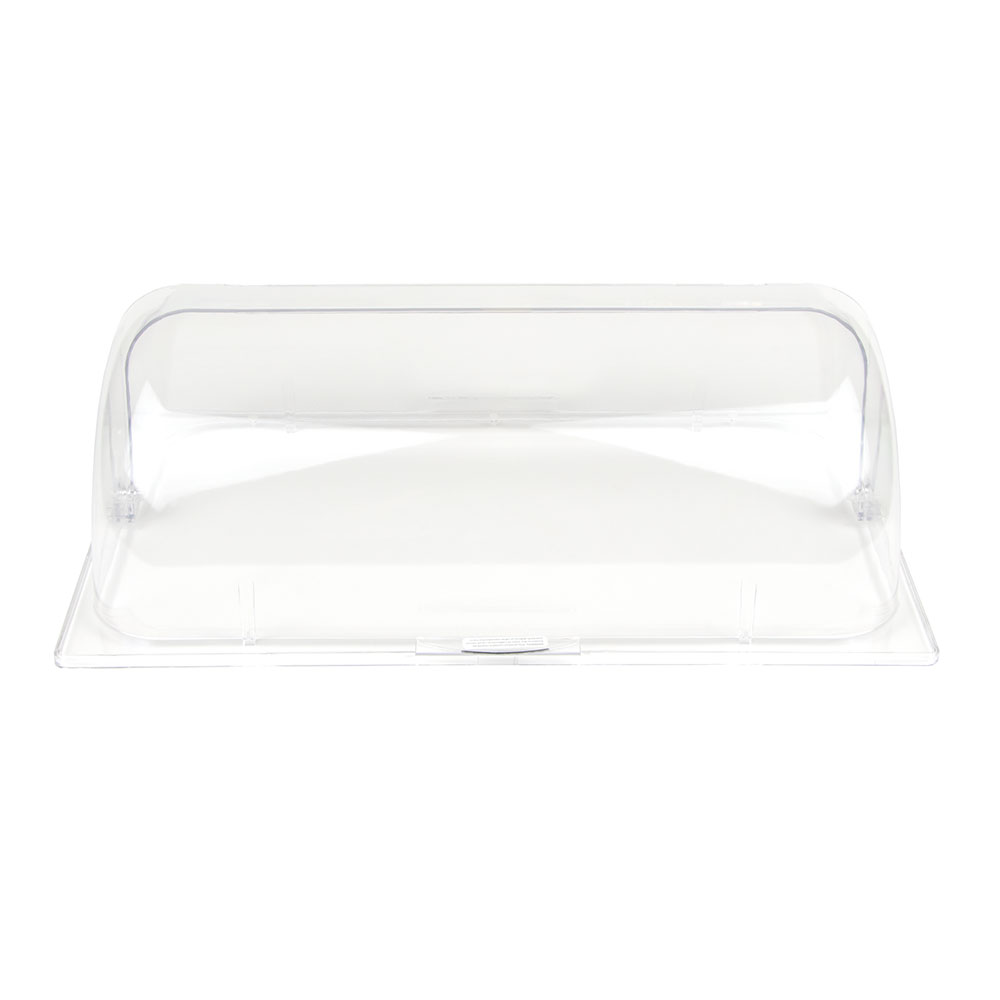 Update International PC-1/RT Full-Size Roll-Top Display Pan Cover - Polycarbonate