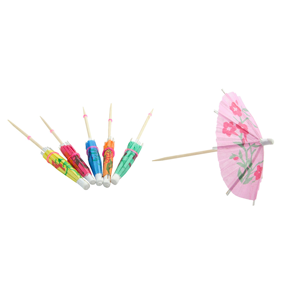 Update International PC-PAR Cocktail Parasol Picks - 144 pe