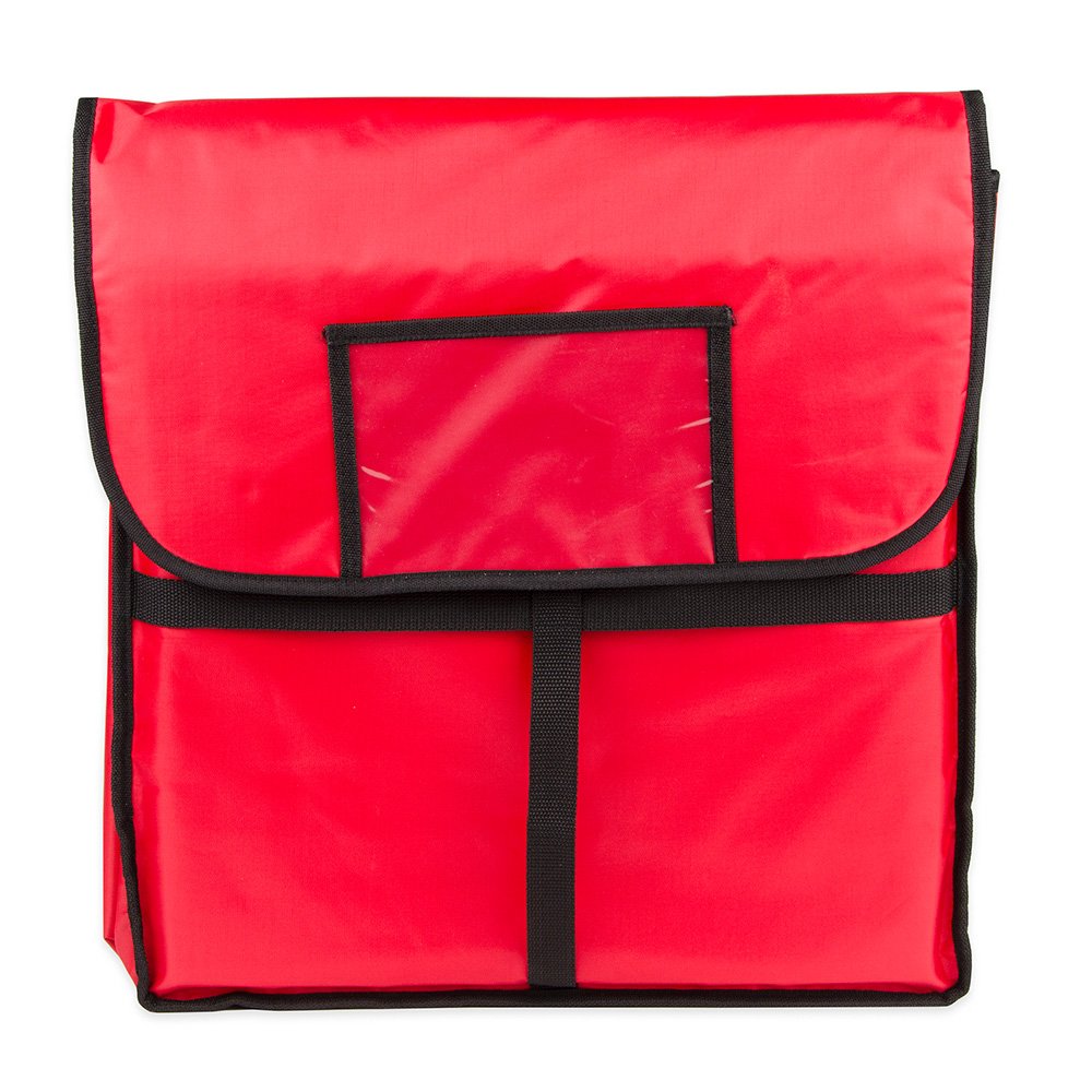 "Update International PIB-18 18"" Square Insulated Pizza Delivery Bag"