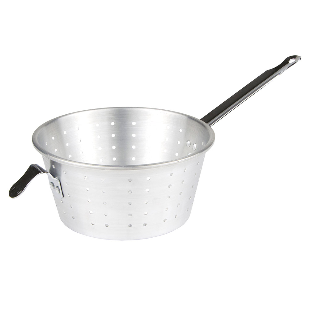 "Update International PSA-10 10"" Round Pan Strainer - Aluminum"