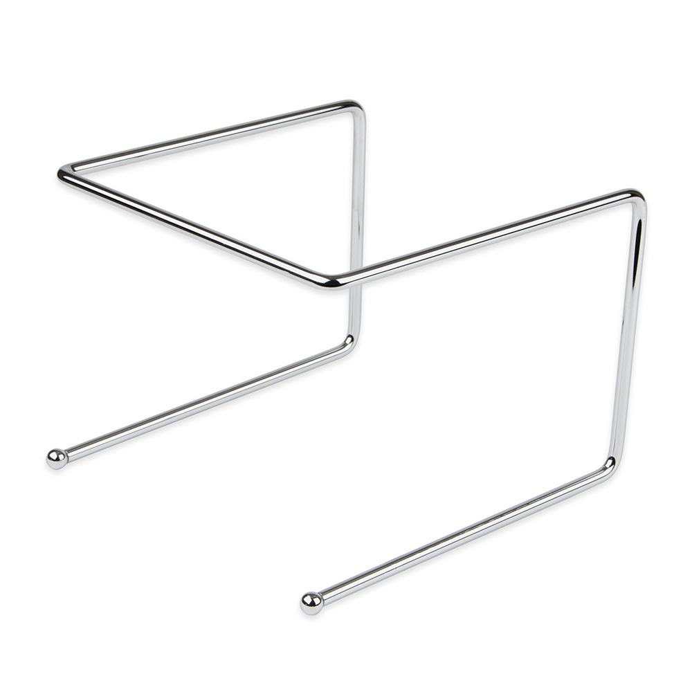 """Update International PTS-9 Pizza Tray Stand - 9x8x7"""" Chrome Plated Steel Rod"""
