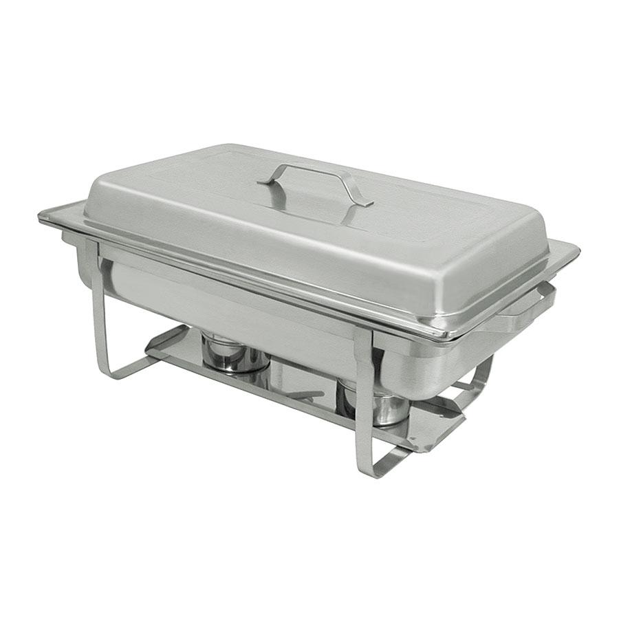 Update International SCC-19 Full-Size Rectangular Chafer - Stackable,