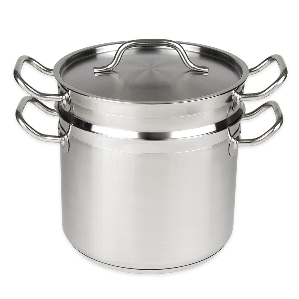 Update International SDB-08 8-qt SuperSteel Double Boiler - Stainless