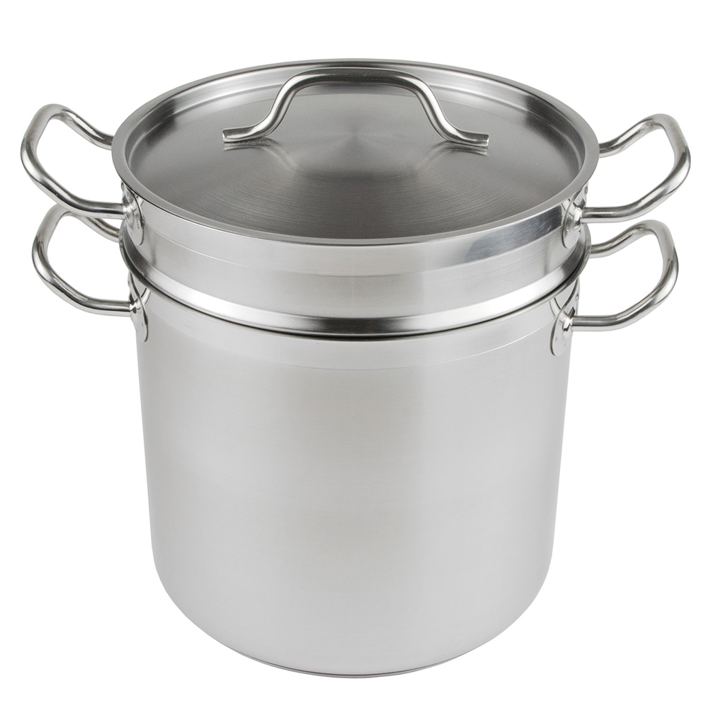 Update International SDB-12 12-qt SuperSteel Double Boiler - Stainless