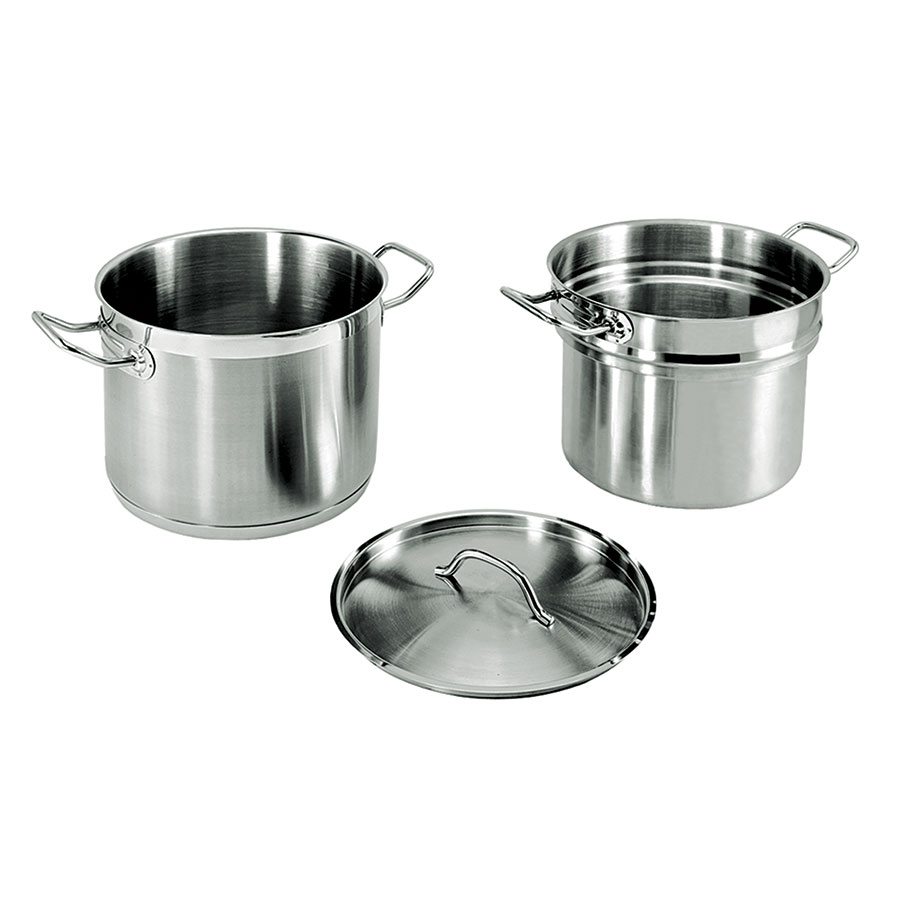 Update International SDB-16 16-qt SuperSteel Double Boiler - Stainless