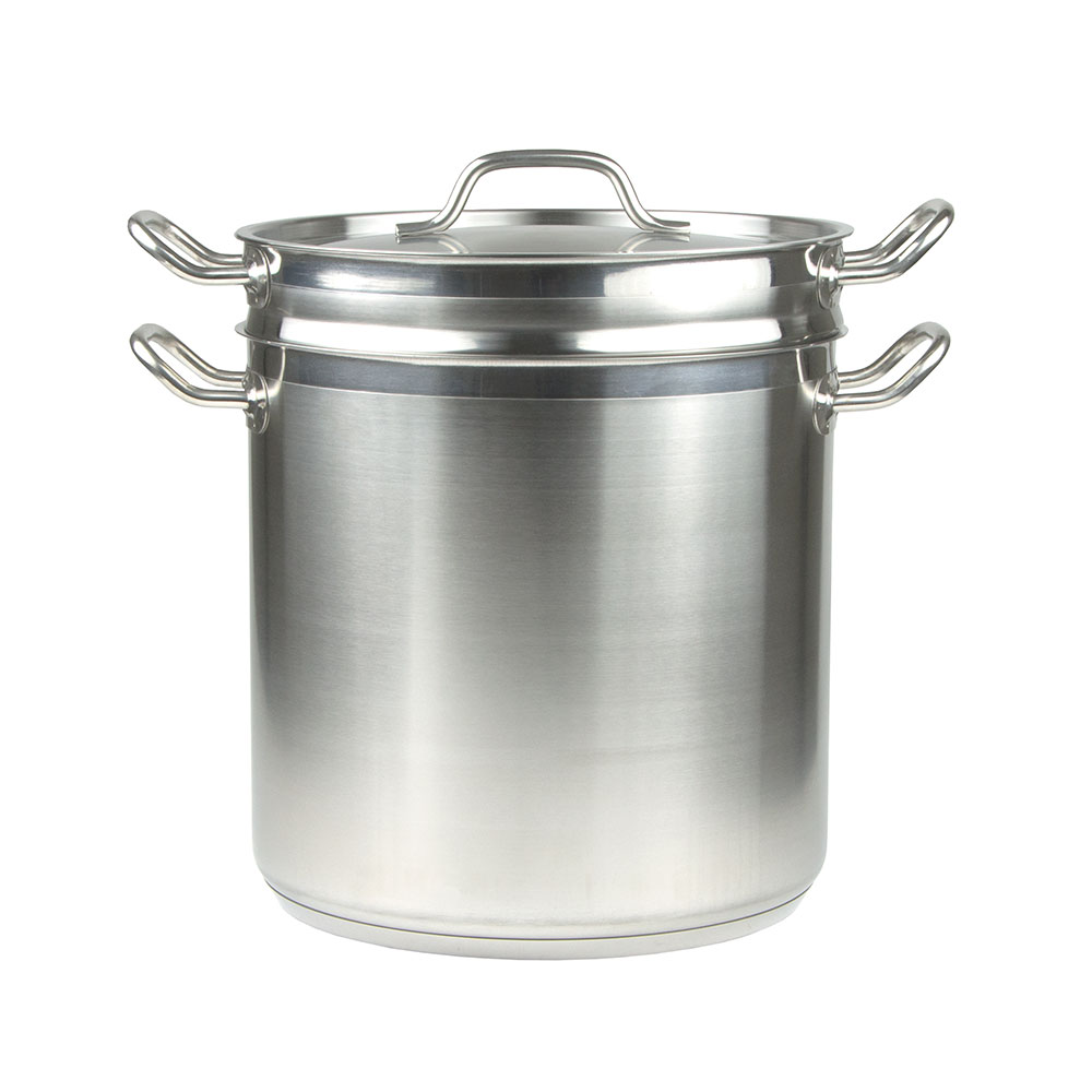 Update International SDB-20 20-qt SuperSteel Double Boiler - Stainless
