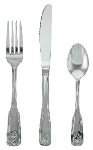 Update International SH-505-N Shelley Dinner Fork - 18/0 ga Stainless, Mirror-Polish