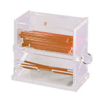 Update International SSD-AC Stirrer Dispenser - Clear Acrylic