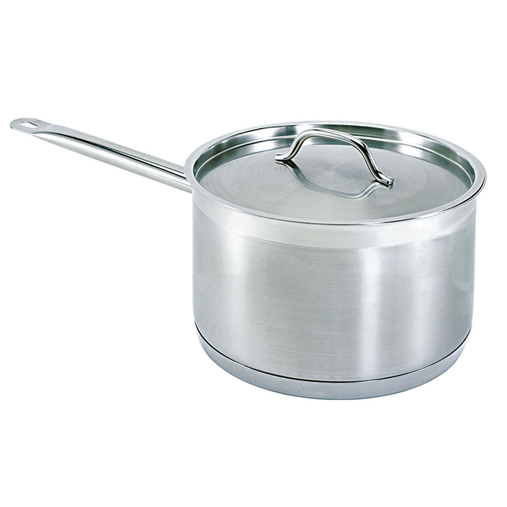 Update International SSP-6 6-qt Saucepan w/ Cover - Induction Compatible, Stainless