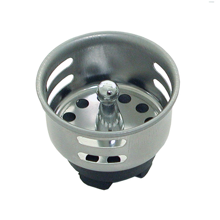 "Update International SSTR-15 1-1/2"" Bar Sink Strainer"