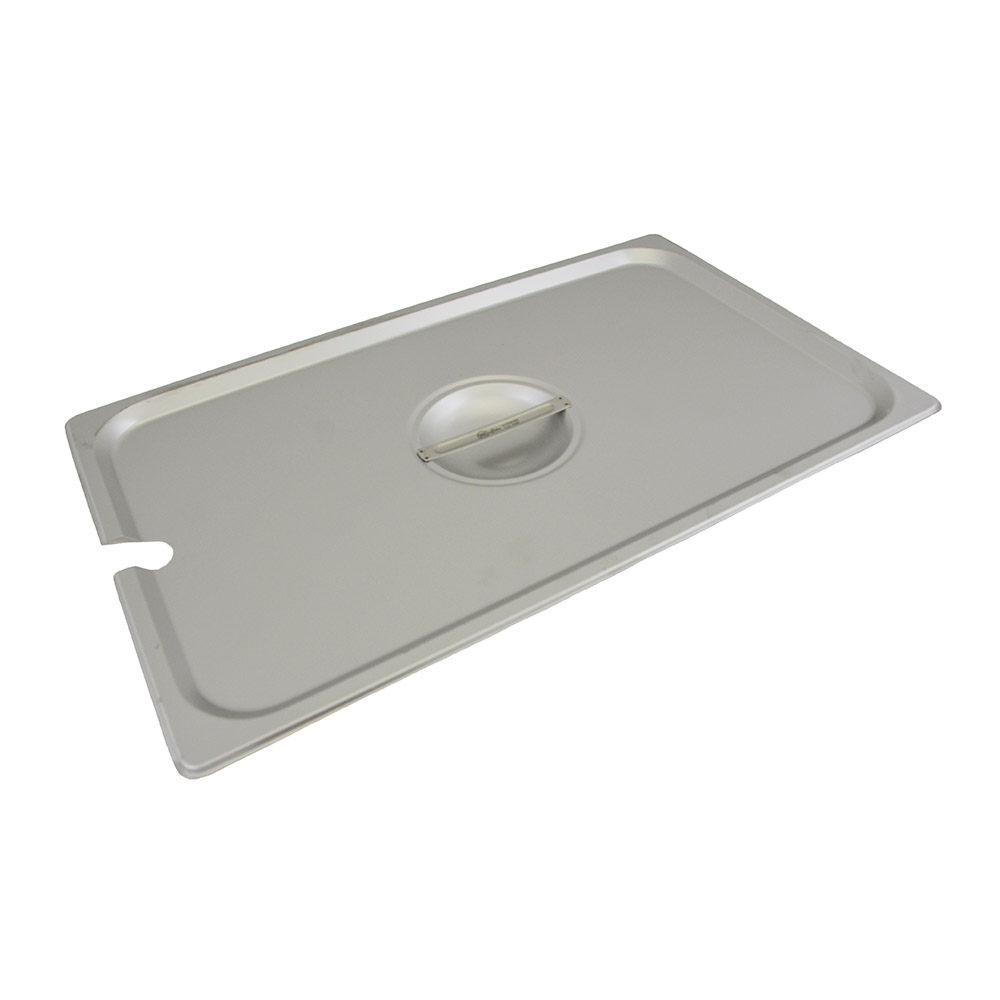 Update International STP-100CHC Full-Size Notched Steam Pan Cover - Stainless