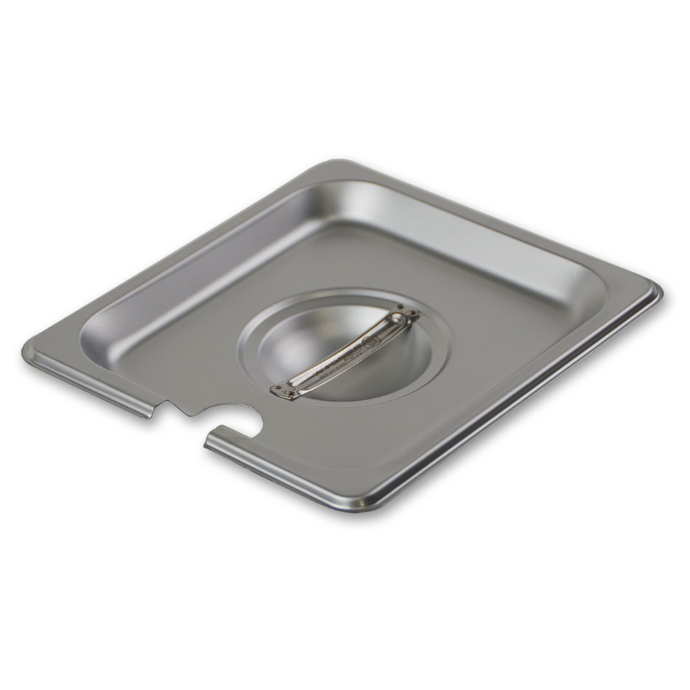 Update International STP-16CHC Sixth-Size Steam Pan Cover, Stainless