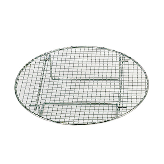 "Update International STR1050 10-1/2"" Round Steamer Rack - Chrome"