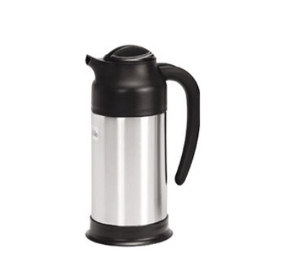 Update International SV-70 0.7-liter Vacuum Creamer - Insulated, Stainless/Black
