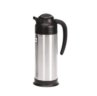 Update International SV-100 1-liter Vacuum Creamer - Insulated, Stainless/Black