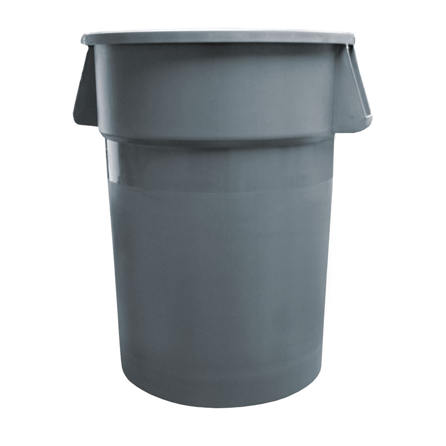 Update International TC-32G 32-gal Trash Can - Polypropylene
