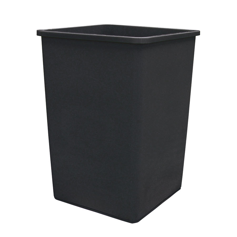 Update International TCSQ-35B 35-gal Trash Can Lid - Black