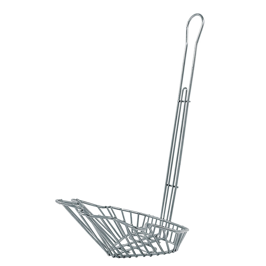 Update International TSBB-60 Slanted Taco Salad Bowl Fry Basket