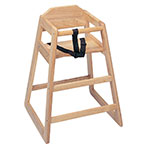 Update International WD-HC Infant High Chair - Light Wood Finish (Unassembled)