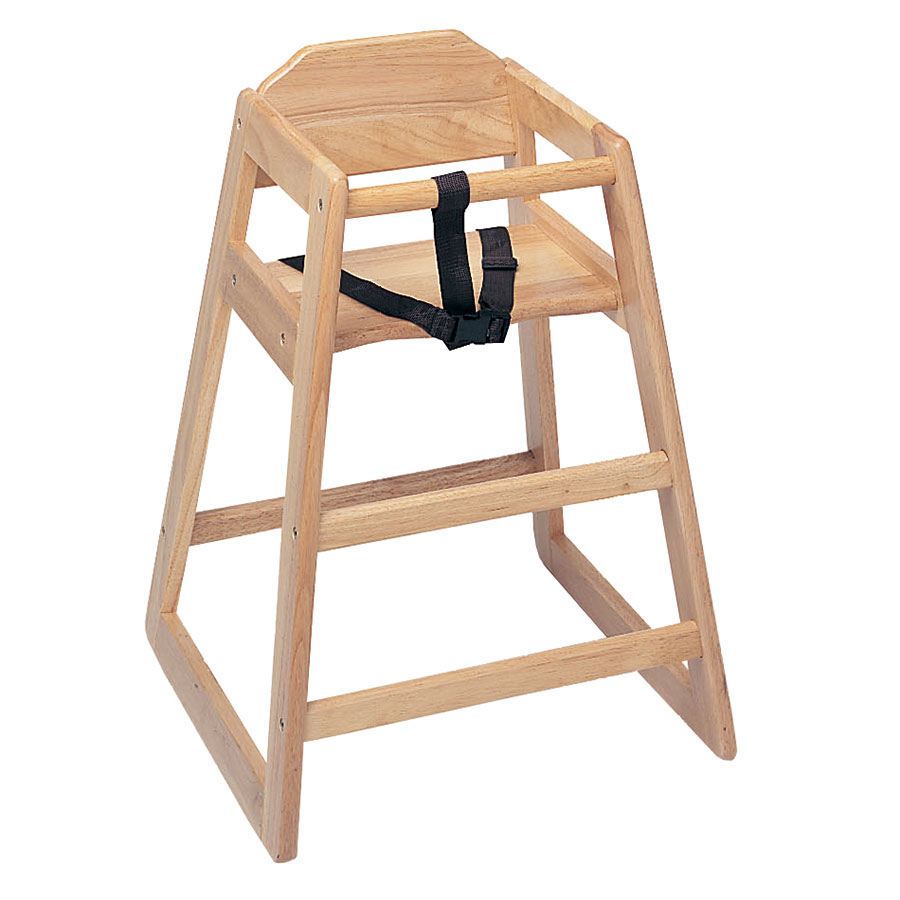 Update International WD-HCA Infant High Chair - Light Wood Finish (Assembled)