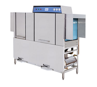 Moyer Diebel MD664803 Conveyor-Type Dishwasher w/ 22-in Prewash, 216-Racks in 1-hr