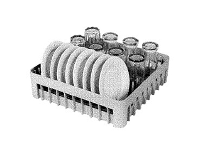Moyer Diebel PEGRACK20Q Standard Peg Rack, 20 x 20-in Square