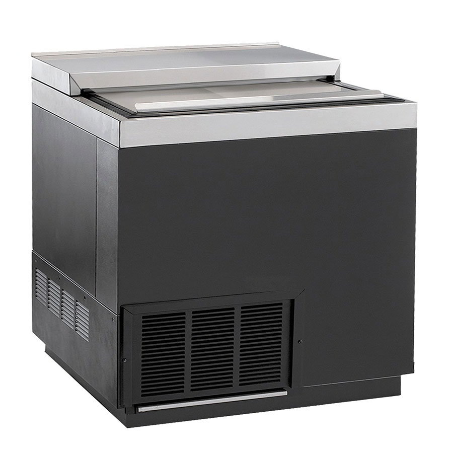 "Krowne BC36-BG 36"" Forced Air 192-Capacity Bottle Cooler - Stainless Interior, 115v"