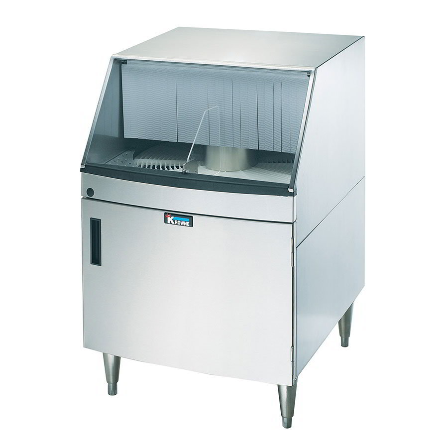 Krowne GWR-24 Under Bar Glass Washer - 1200-Glass/hr, Stainless
