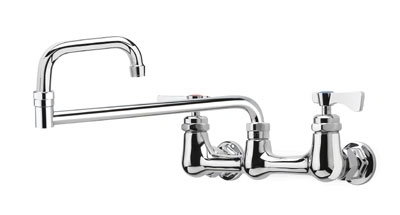 Krowne 14-818L Low Lead Royal Series Faucet, Splash Mount, 18-in Long