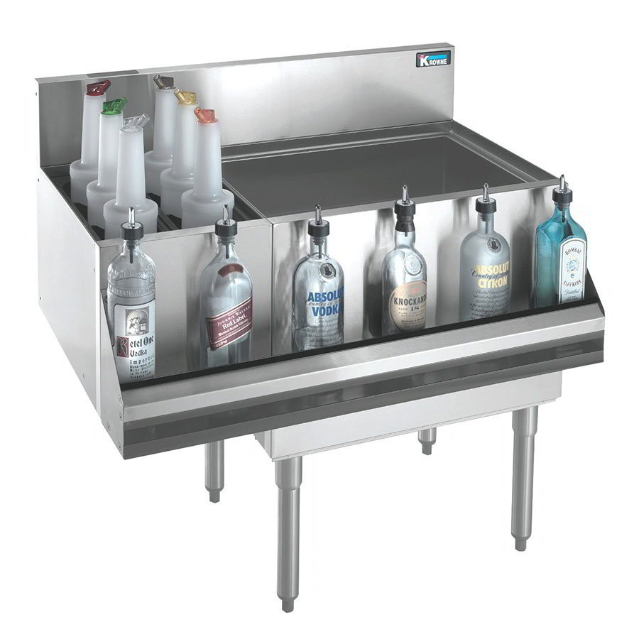 Krowne KR21-M48R Right Ice Bin/Left Bottle Sec