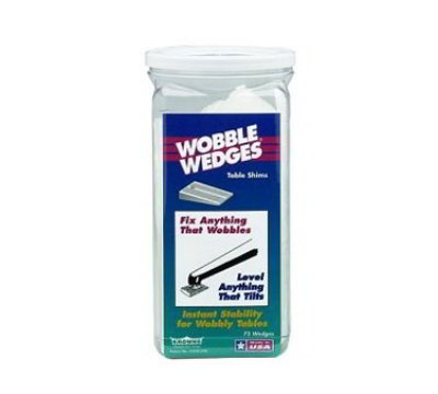 Krowne 29-160 Jar Of Wobble Wedges, 75-Pieces