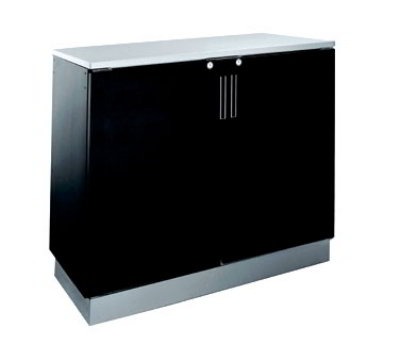 Krowne BR48L 48-in W Backbar Storage Cabinet w/ (20) 12-oz Can Capacity, Left Remote