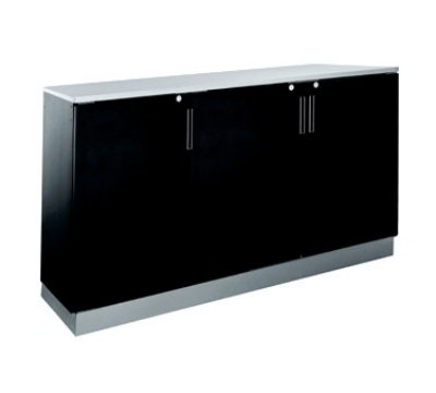 Krowne BR72R 72-in Backbar Storage Cabinet, Right Remote Refrigeration Hook-Up