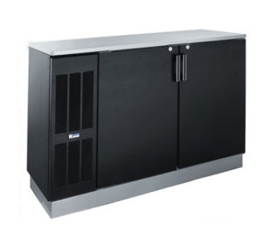 "Krowne BS60L 60"" Back Bar Storage Cabinet - Holds ("