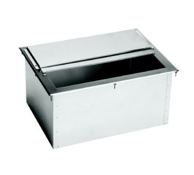 Krowne D2712 10-in D Drop-In Ice Bin For 87-lbs Ice Stainless Restaurant Supply