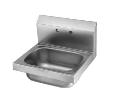 "Krowne HS-6 Wall Mount Hand Sink - 14x10x6"" Bowl, 16x15"