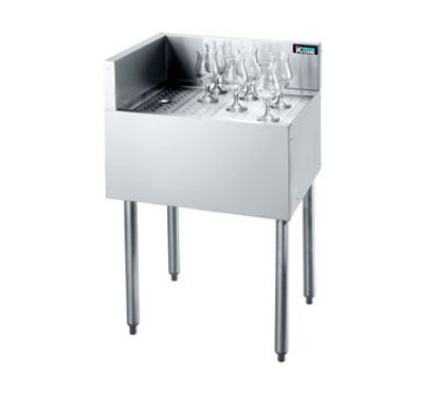 Krowne KR21-C18L Under Bar Freestanding Drainboard - 7&quo