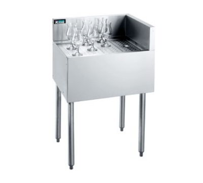 Krowne KR21-C24R Under Bar Freestanding Drainboard